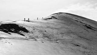 Vzpon po SZ grebenu