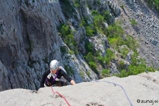 Simona na vrhu Danaje