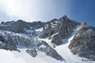 Pogled na Zimsko smer