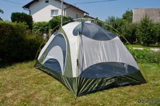 Postavljen notranji šotor