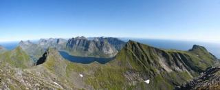 Pogled proti Kjerkfjordu in Half Domu
