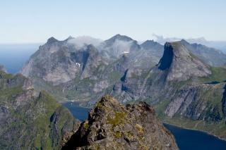 Norveški Half Dome oz Segltinden