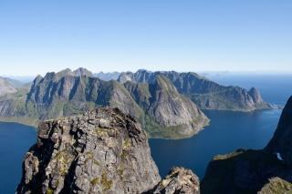 Kjerkenfjord in Reinefjord