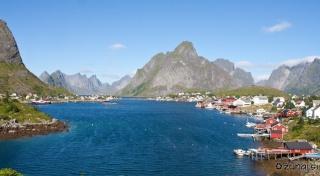 Reine in Kjerkfjorden