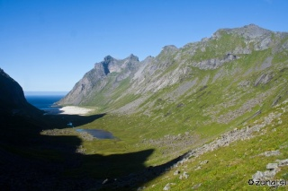 Pogled v dolino Horseid