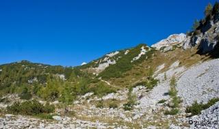 Na poti proti dolini Za Kopico