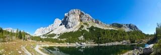 Dvojno jezero v dolini Triglavskih jezer