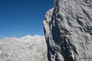 Kanjavec in stena Debelega vrha