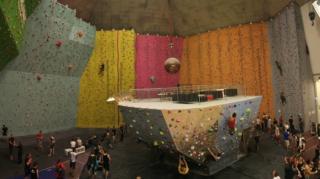 Panoramski posnetek Klatterlabet