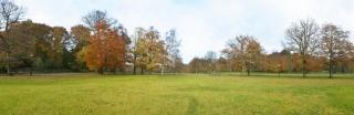 Slackline v parku