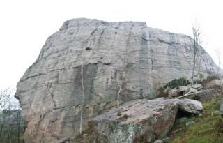 Panoramska slika stene