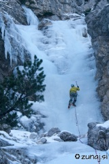 Suvereno plezanje po dobrem ledu