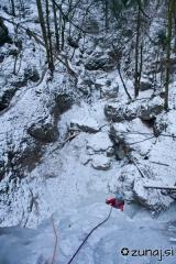 Plezanje čez previsno gobo