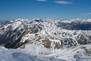 Pogled iz vrha Rodice proti Voglu