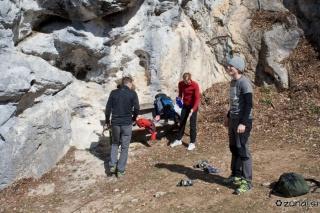 Prihod v plezališče