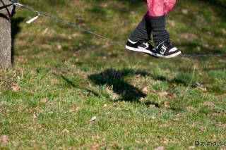 Slackline aprooved shoes