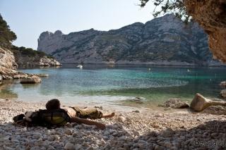 Smisel življenja je ležanje na plaži...