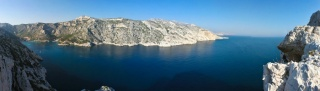 Panoramski pogled na zaliv Sormiuo