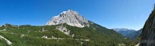 Panoramski pogled iz plezališča