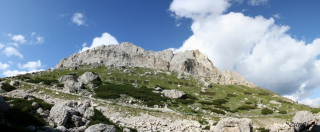 Gora za plezališčem