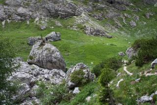 Pot proti plezališču