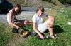 Uživanje v breskavah in 1000 roži