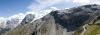 Panoramski pogled na poti