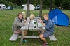 Družina za mizo:)