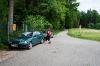 Odhod izpred parkirišča