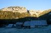 Planina v Lazu zjutraj