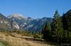 Pogled iz doline proti Toscu