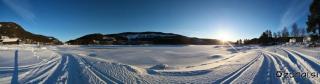 PAnoramski pogled z jezera
