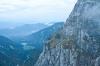 Pogled v dolino in na Mangartska jezera