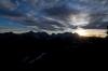 Sonce zahaja za KS Alpami
