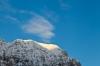 Prvi sončni žarki osvetlijo vrhove
