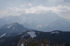 Pogled proti Jezerskemu in jezerskim goram
