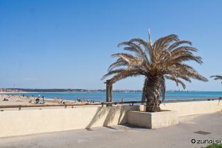 Na plaži v Fos Sur Mer