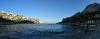 Večer v zalivu Sormiou