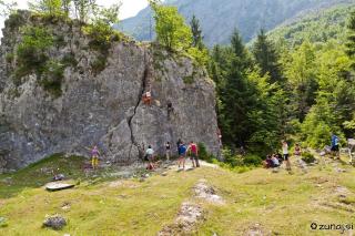 Plezališče Trenta