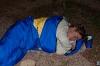 Mare spi pod milim nebom