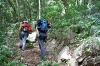 Na poti v plezališče