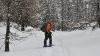 Sneg na poti nazaj