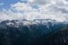 Pogled proti Serra Nevei in Kaninu