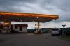 Zadnja bencinska pred vstopom v Češko