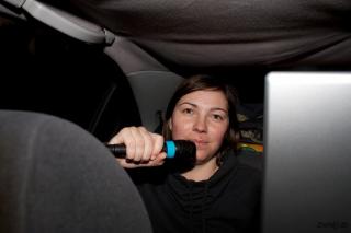 Karaoke v avtu na poti nazaj