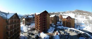 Pogled iz balkona apartmaja