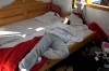 Alenka hoče spati, da bo zdržala zvečer