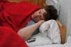 Žan je še gladko spal