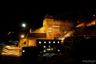 Telovadnica ponoči