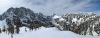 Pogled iz vrha Slemenove špice na okoliške hribe